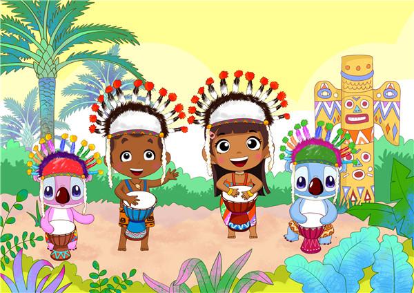 睿卡幼儿园非洲鼓教案——《王老先