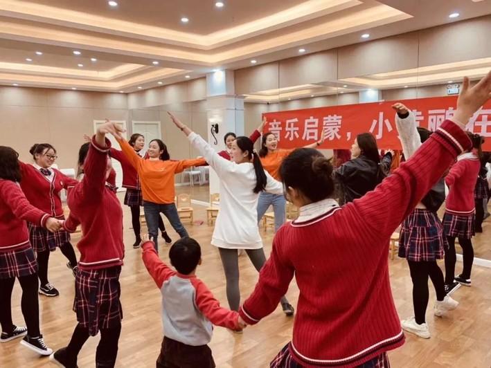 4月14日周口站|睿卡奥尔夫音乐公益课堂开始啦