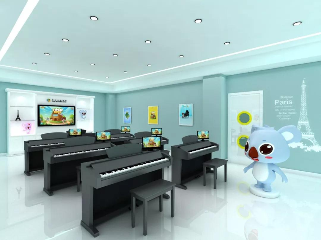"""专业钢琴启蒙教育""""老师""""——小睿智能钢琴教"""