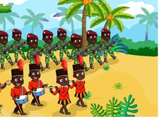 幼儿非洲鼓入门教案——《草原欢呼》