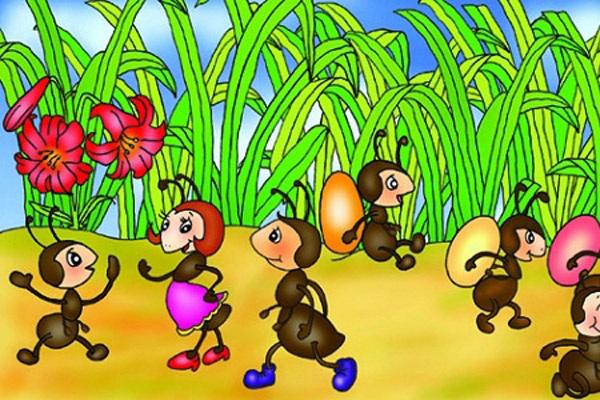 中班奥尔夫音乐教案——《小蚂蚁》