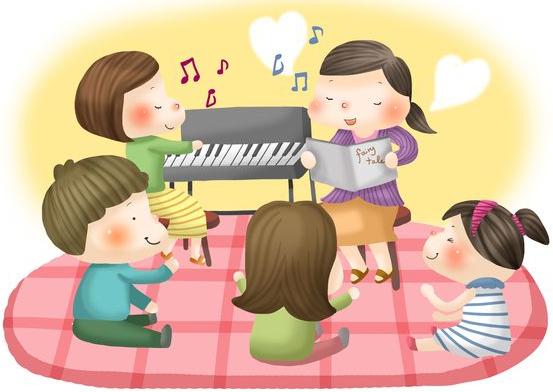 幼儿园音乐特色课程——《办家家》图片